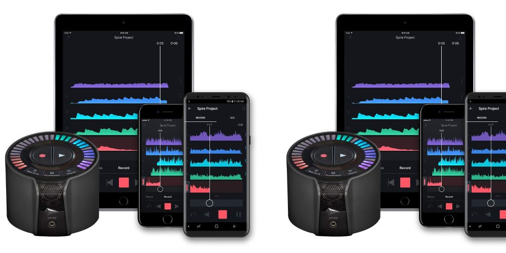 iZotope Spire Studio portable recording interface for iOS/Android