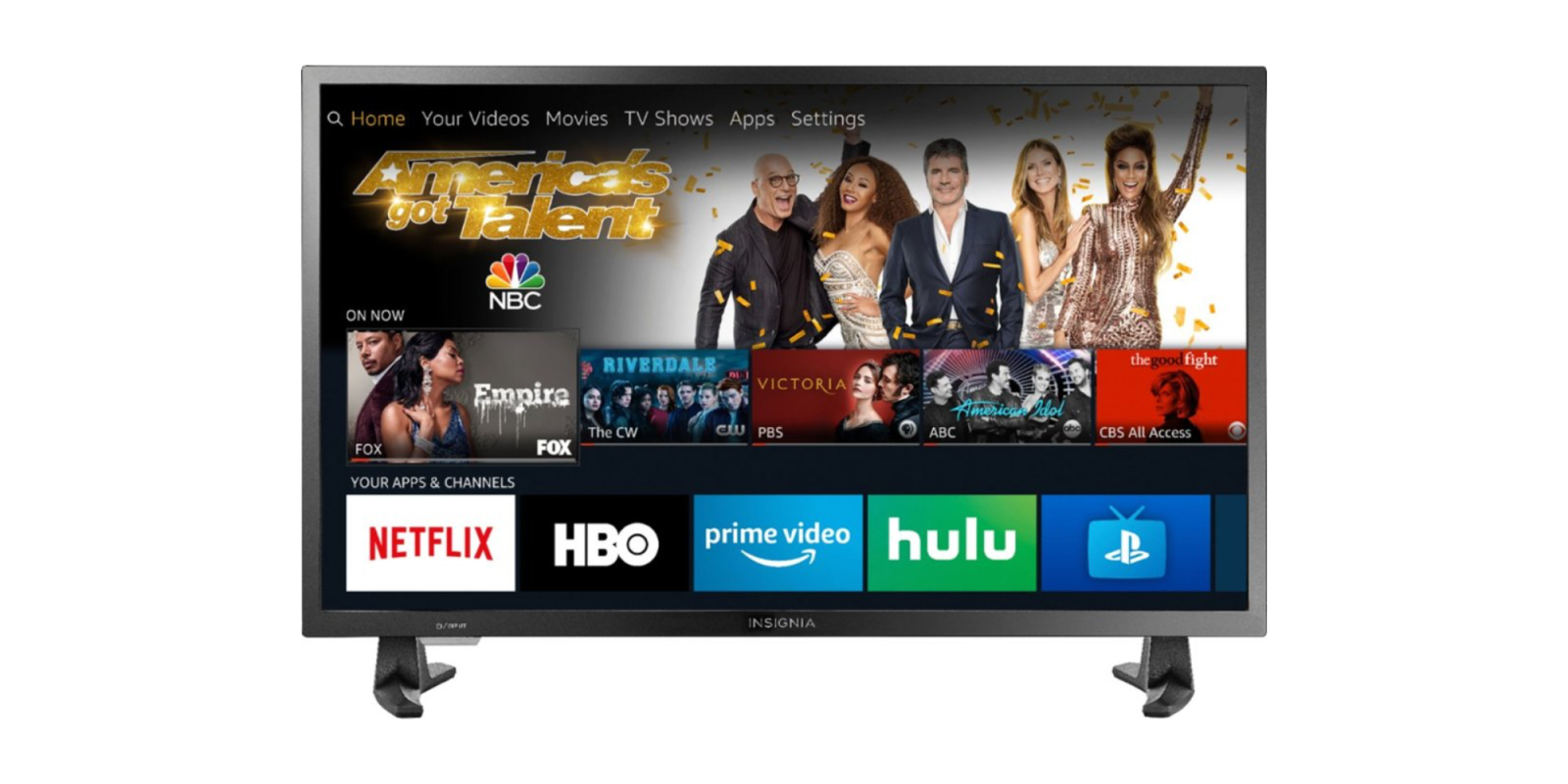 Bundle Insignia's HD or 4K Fire TV Editions with an Echo Dot from $100 shipped