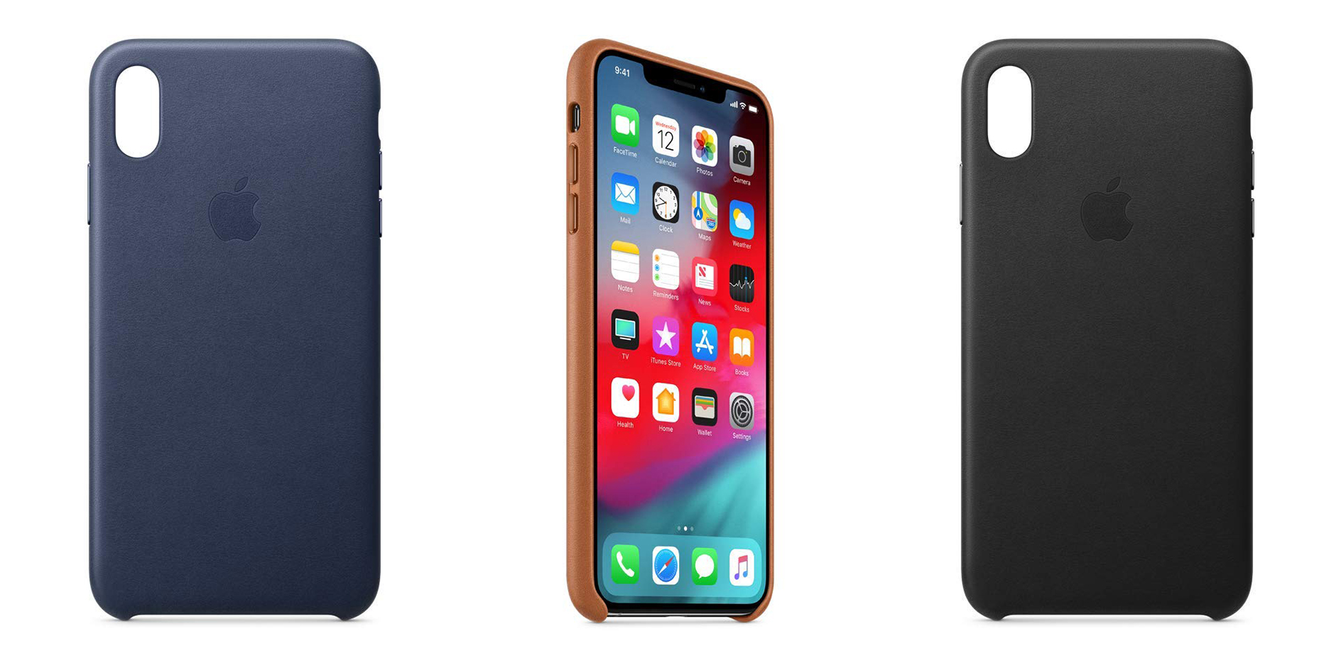 Wrap your iPhone XS Max in Apple's official leather cases from $39 (various styles available)