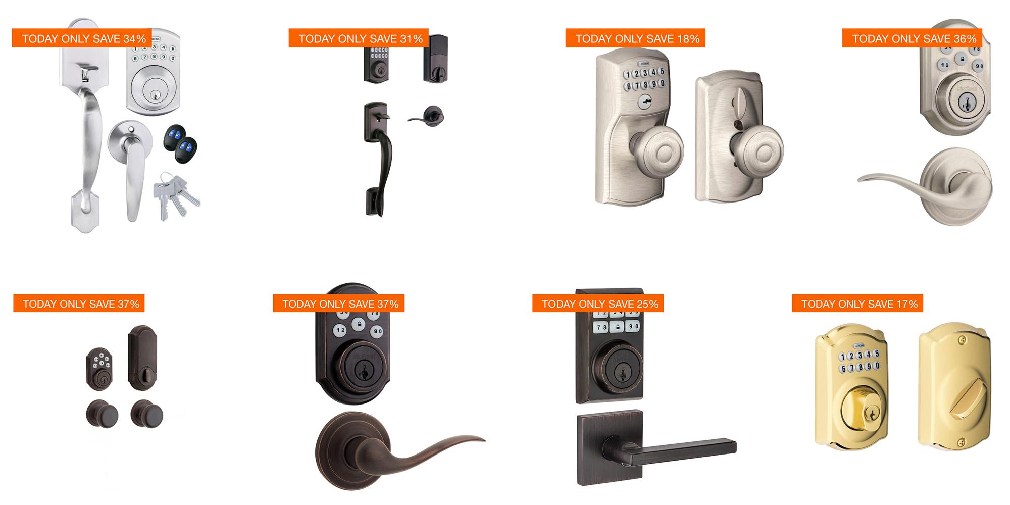 Home Depot's smart lock sale has deals from $74: Kwikset, Schlage, more
