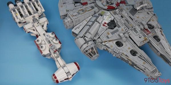 Millenium Falcon Comparison