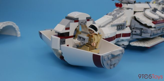 LEGO Tantive IV set Cockpit interior