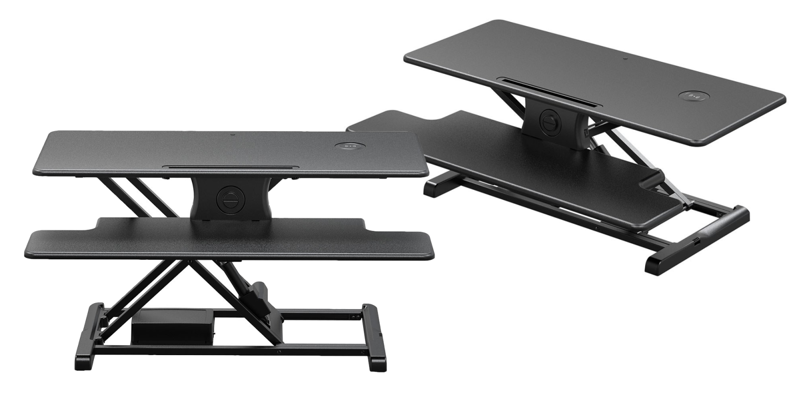 Monoprice's Electric Sit-Stand Desk Converter has a built-in Qi charger at $136 (Reg. $160)