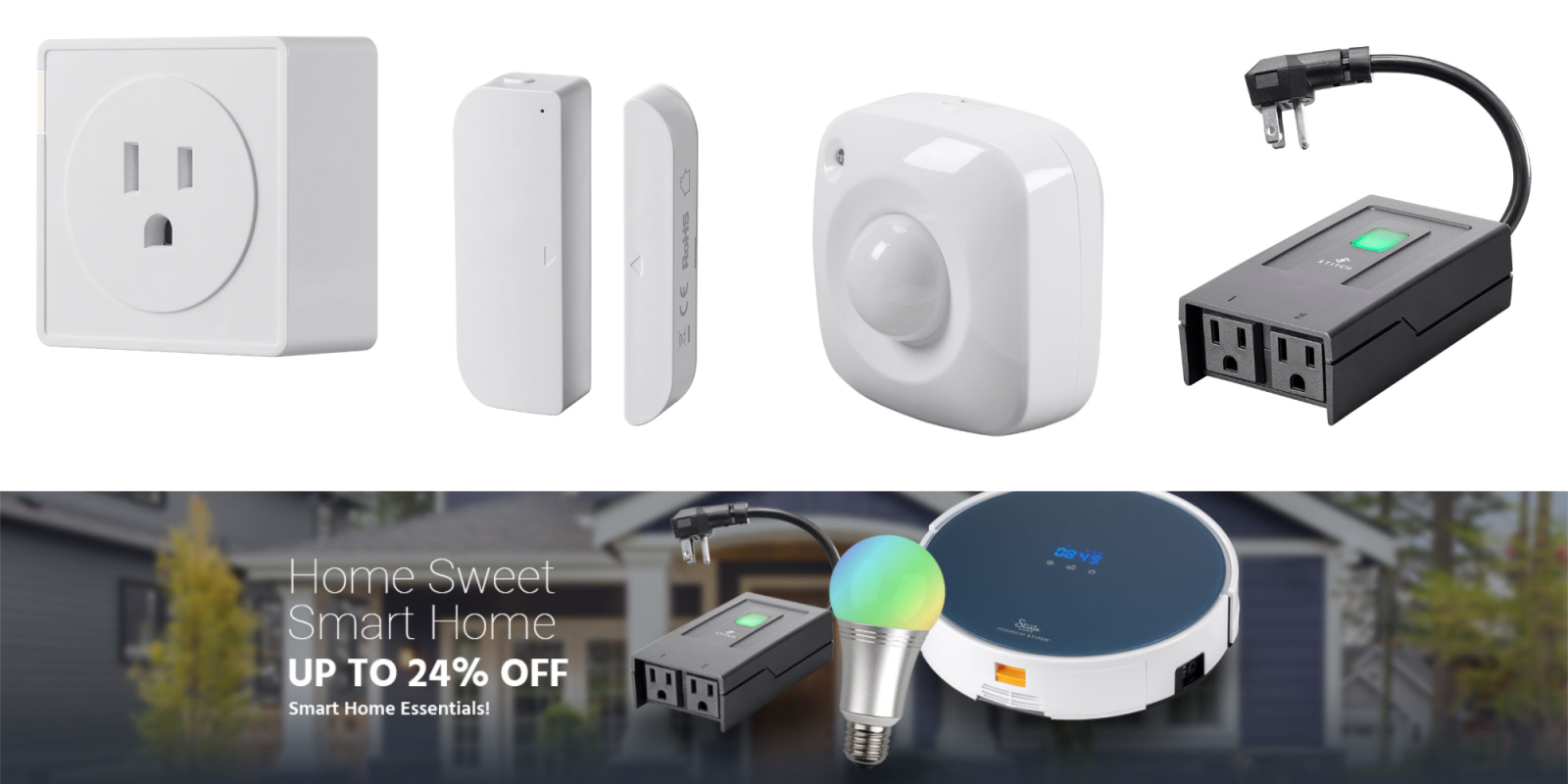 Monoprice takes up to 24% off Z-Wave, STITCH and other smart home accessories from $12