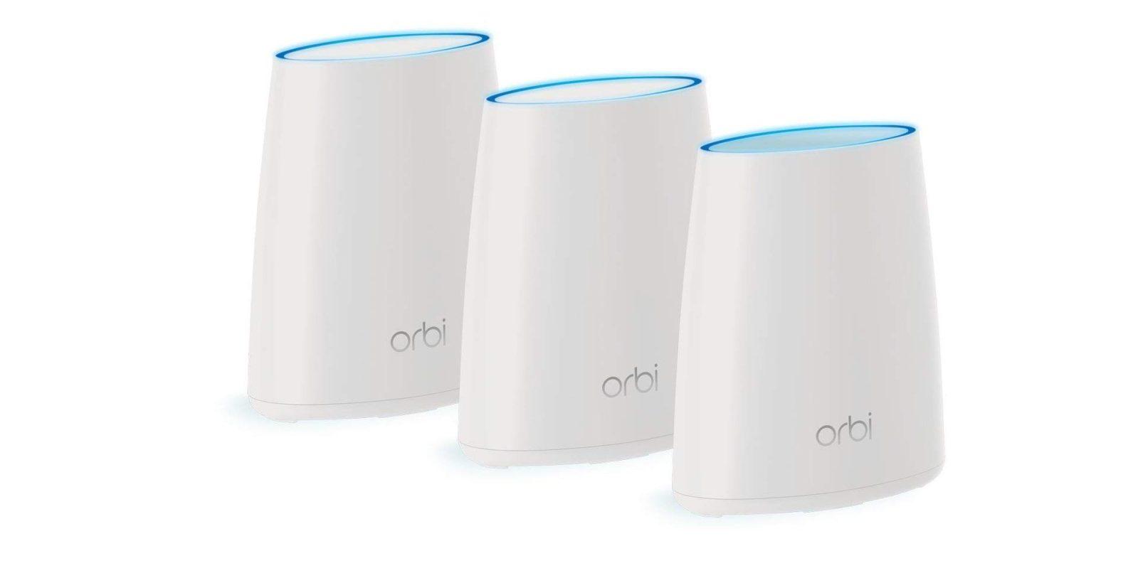 NETGEAR Orbi 802.11ac Mesh Wi-Fi System is $210, today only (Cert. Refurb, Orig. $350)