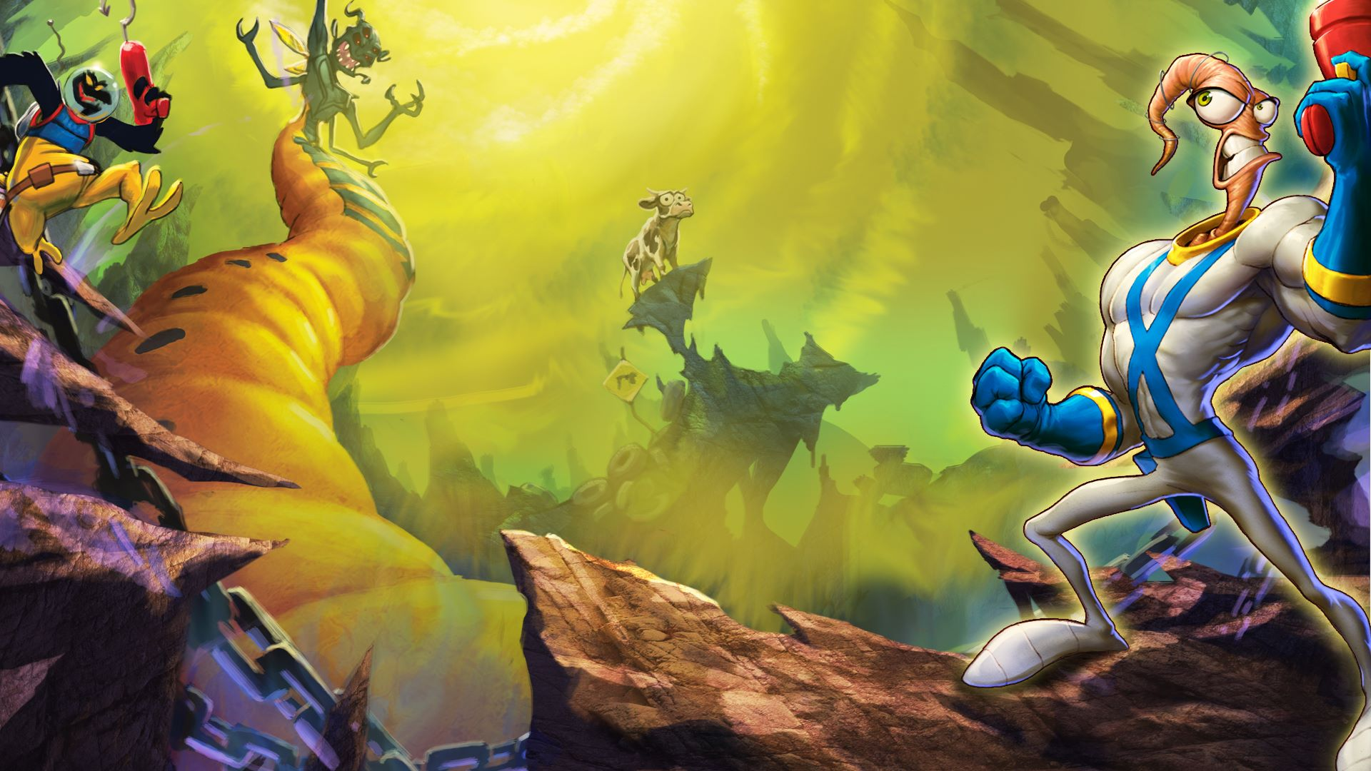 New Earthworm Jim game on the way