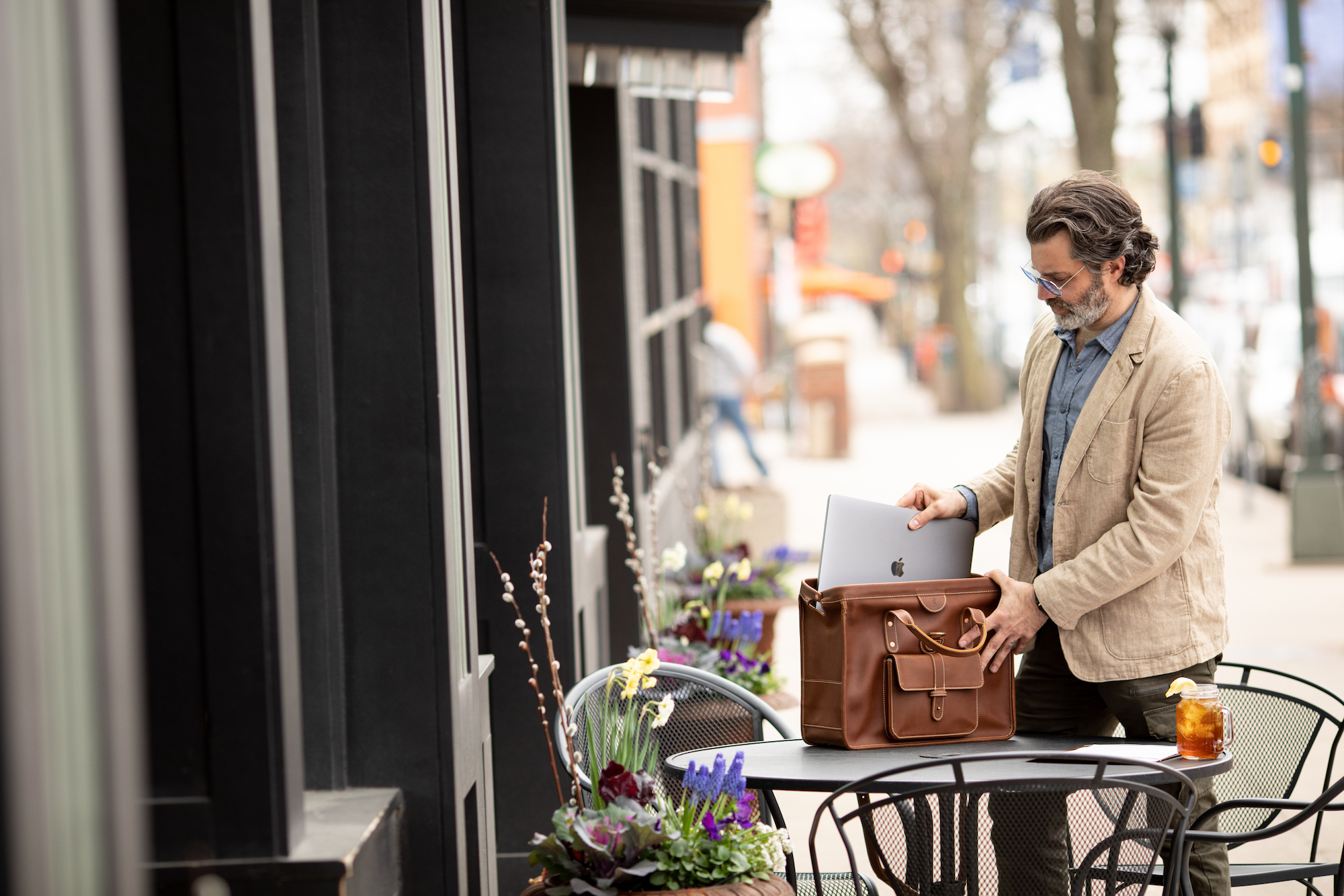 New leather MacBook bags from Pad & Quill are here