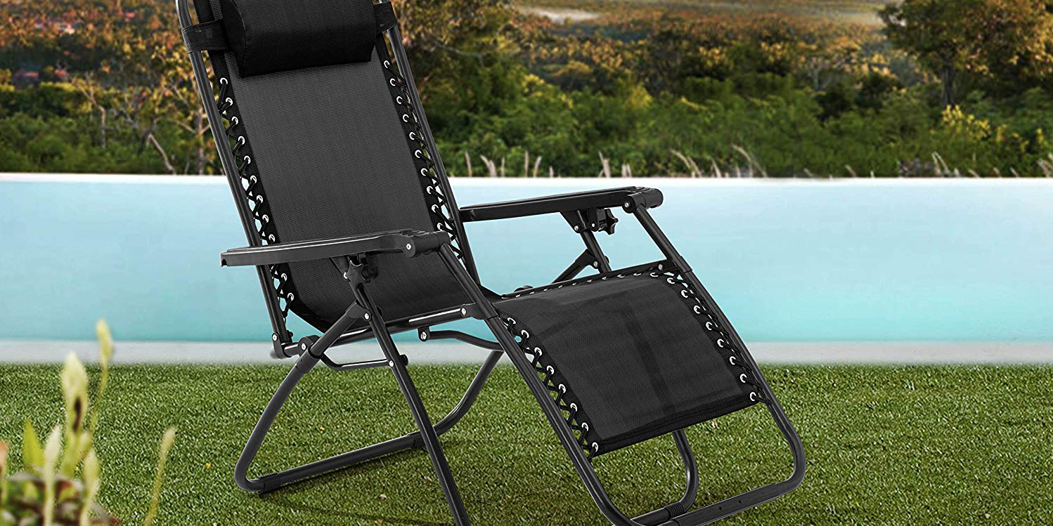 Your summer calls for this Zero Gravity Chair, available in various colors for $30 (Reg. $40)