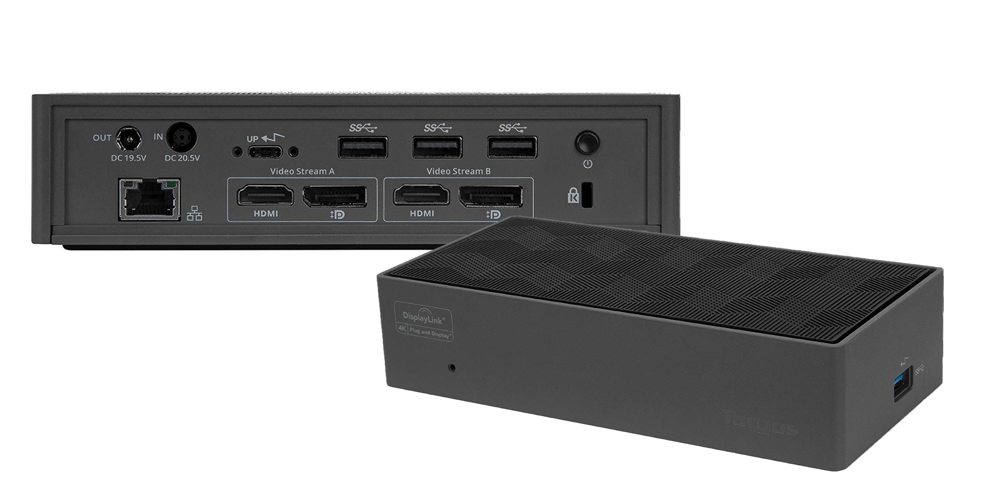 Targus' Thunderbolt 3 Dock can drive two 4K monitors and ...