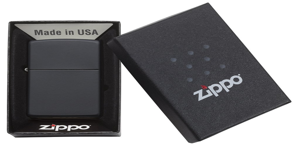This sleek Zippo Matte Black Pocket Lighter is now only $9 Prime shipped