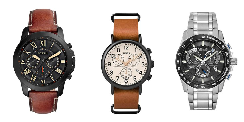 Father's Day watches from Amazon at up to 40% off: Fossil, Timex