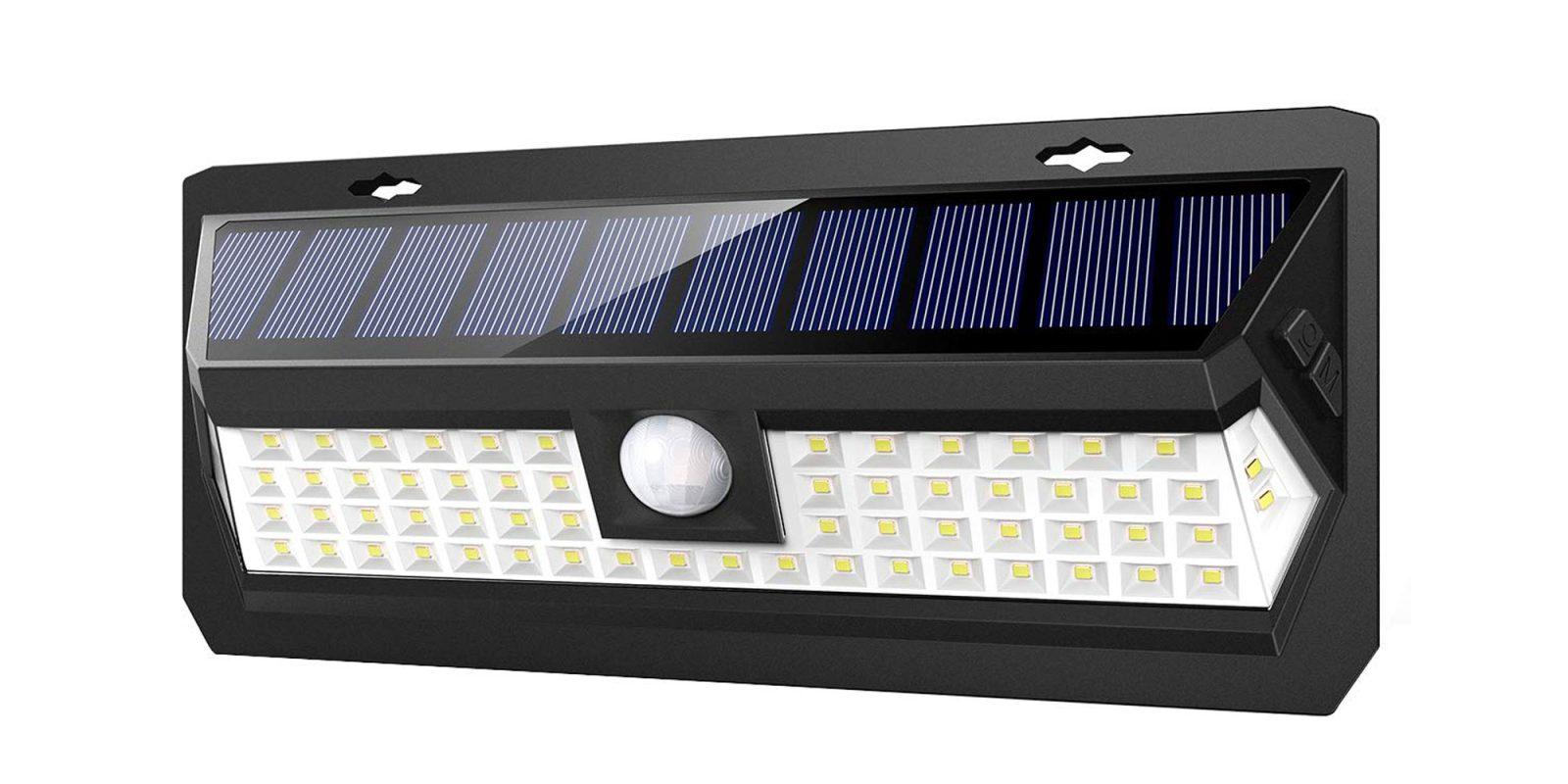 Illuminate backyard parties w/ this 62 LED solar light for $16.50 at Amazon