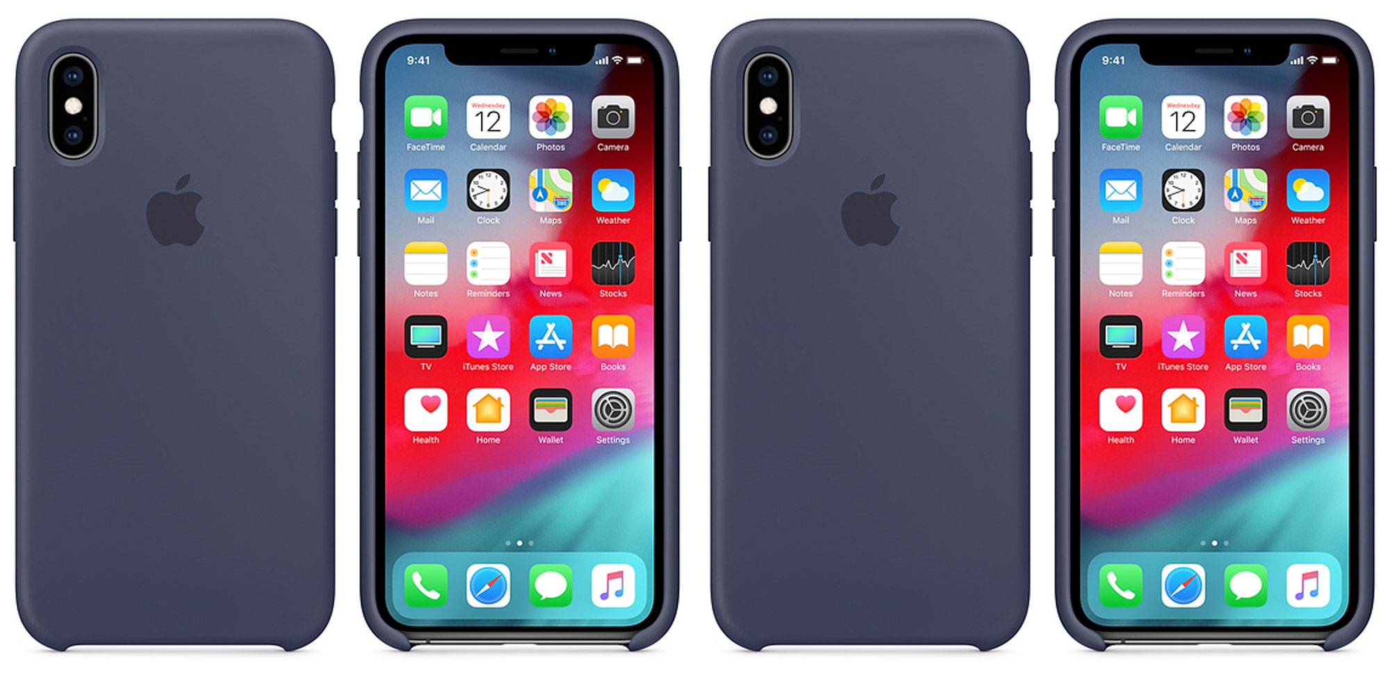 apple iphone xs case silicone