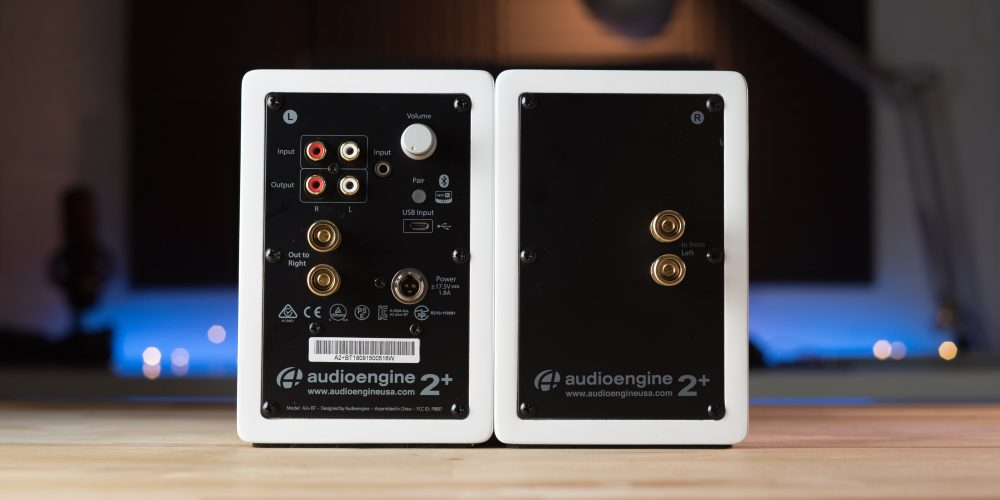 Audioengine A2+ Wireless rear