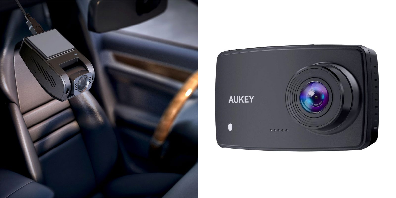 Aukey's dash cameras from $30 are must-have summer travel companions