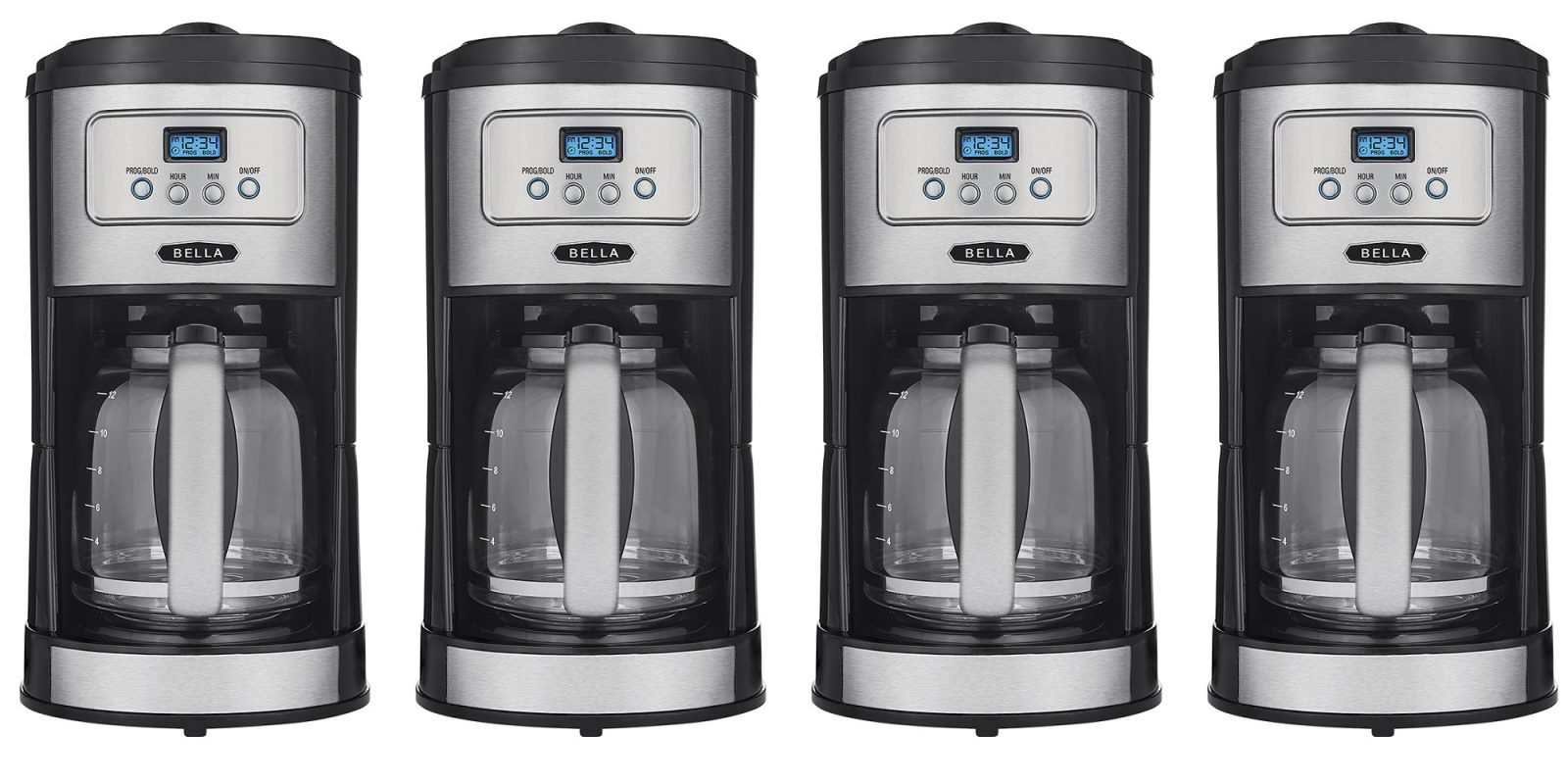 Bella's 12-cup Coffee Maker with pause-and-serve drops to $20 today (50% off)