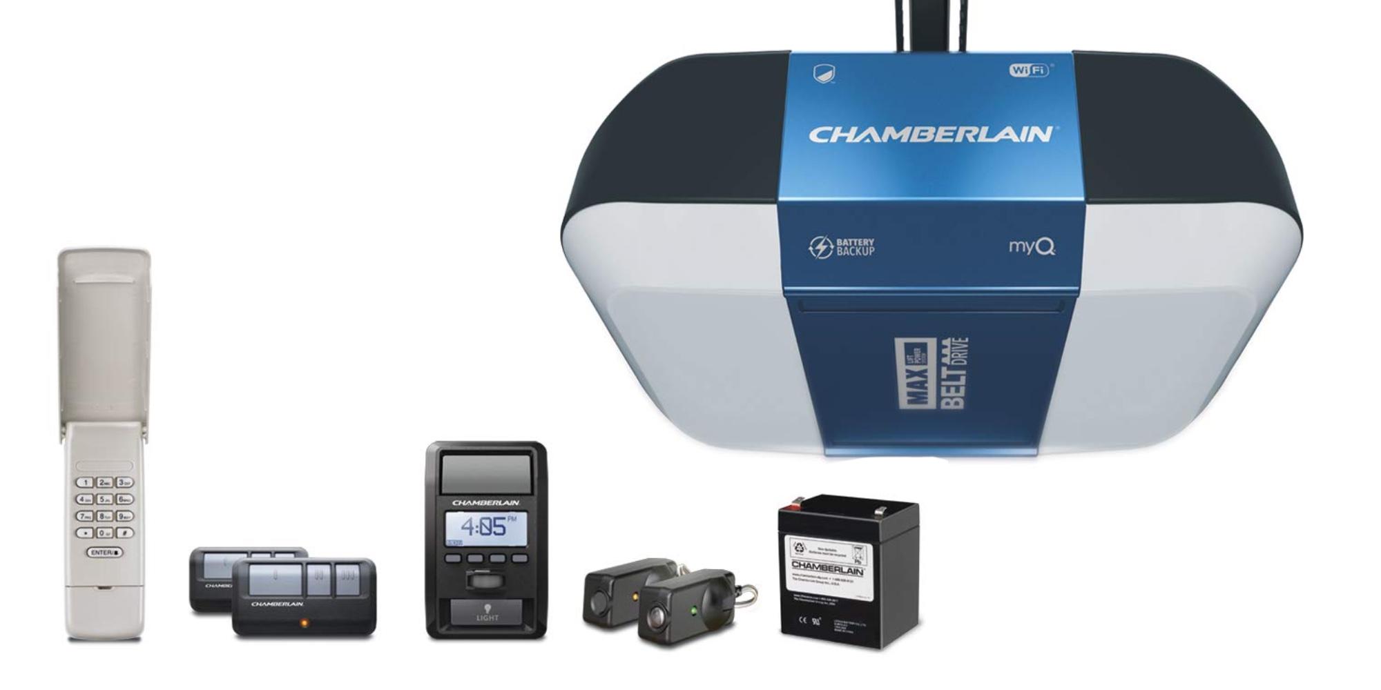Chamberlain S Myq Smart Garage Door Opener Hits Amazon Low