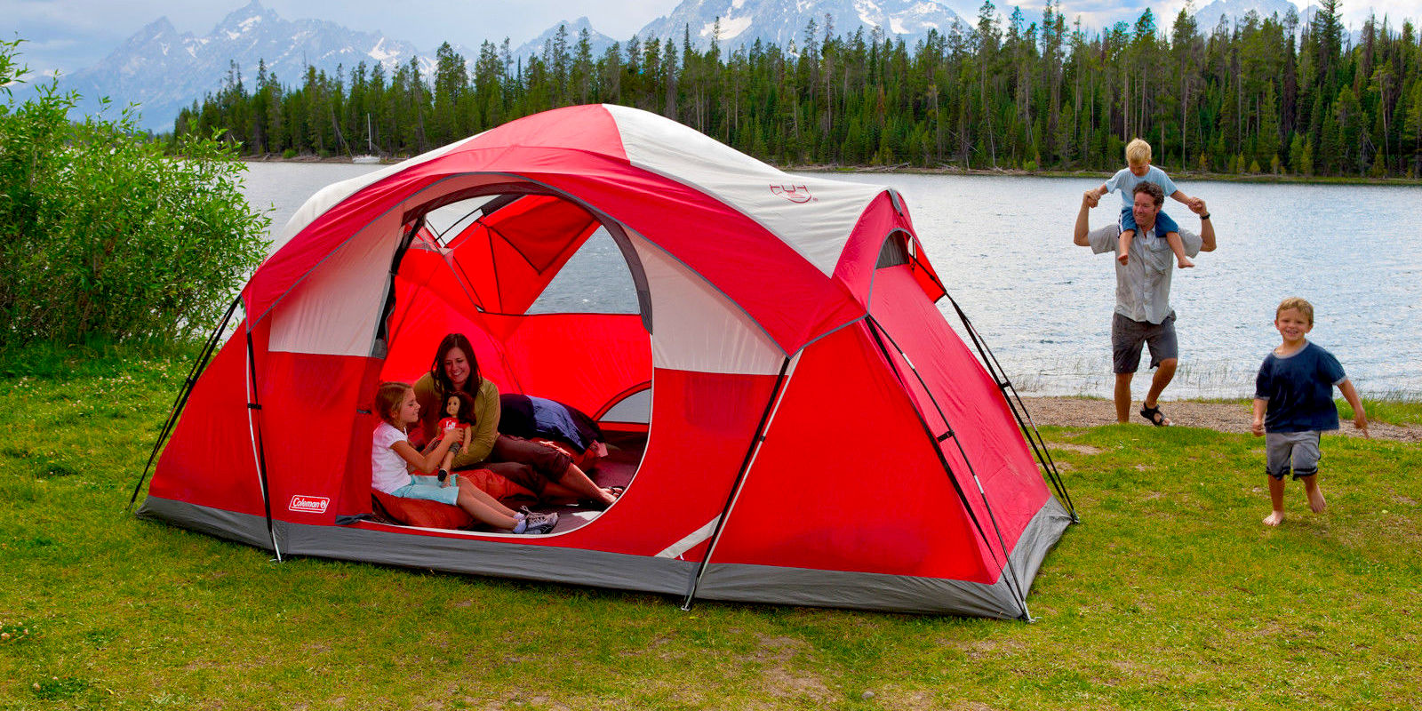 Take Coleman's 8-Person Dome Tent on your next adventure for $90 (Reg. $150)