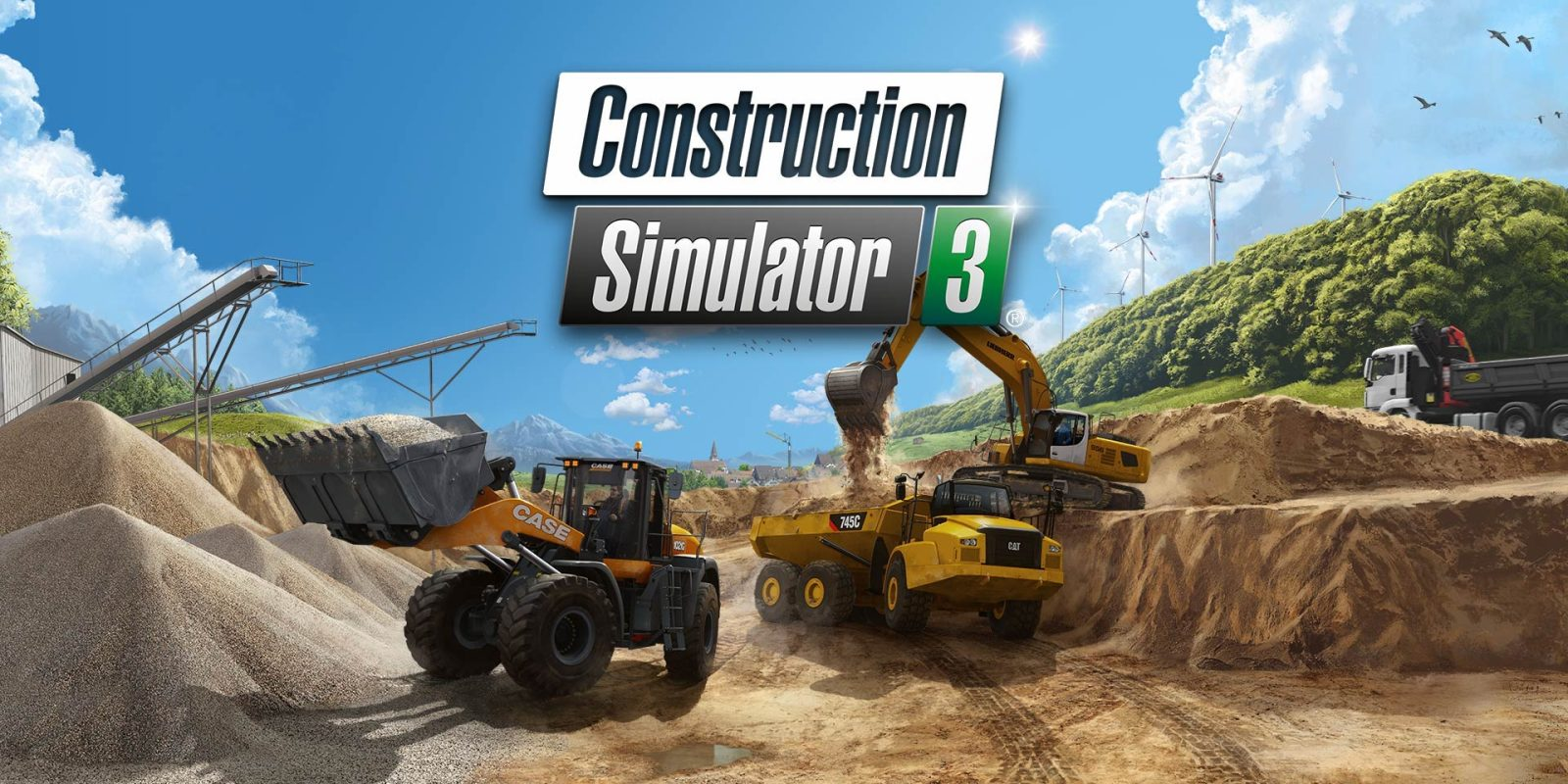 Build an idyllic European town in Construction Sim 3 for iOS, now $2 (50% off)