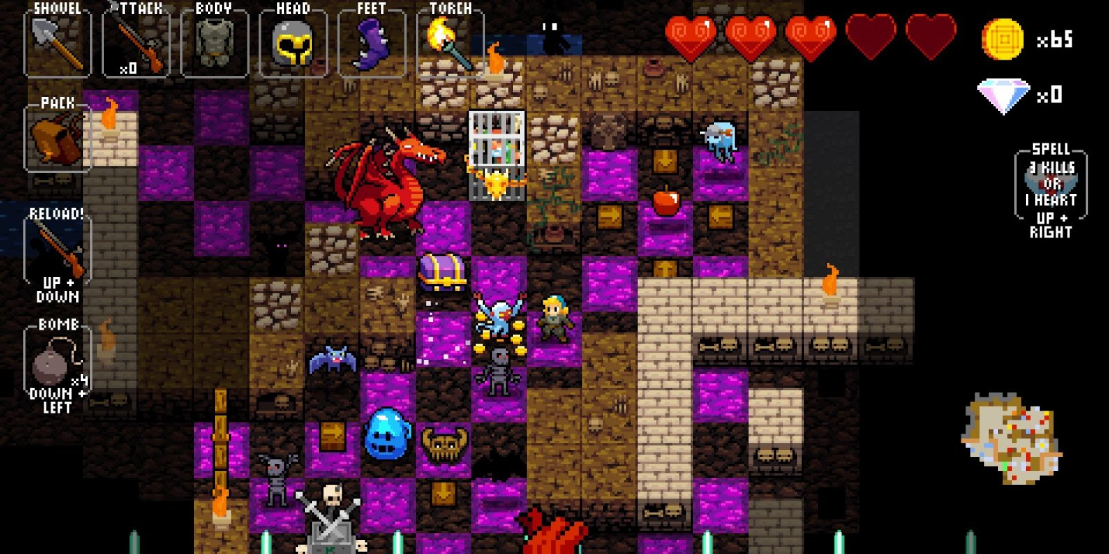 Roguelike iOS rhythm game Crypt of the NecroDancer hits the all-time low at $1