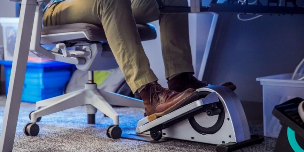 Save $100 on Cubii's Pro HealthKit Under Desk Elliptical at $249, today only