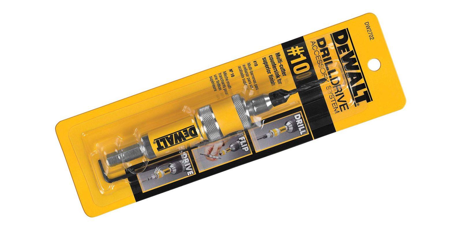 DEWALT's Flip Drive accessory makes pre-drilling a breeze: $10 (Save 30%)