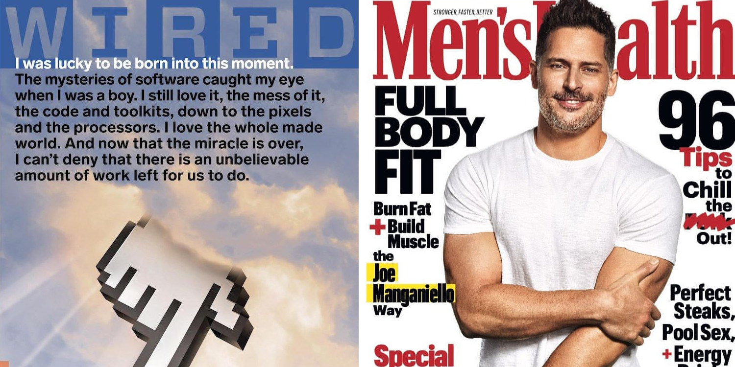 Magazine subs from $4.50/yr: Wired, Men's/Women's Health, GQ, many more
