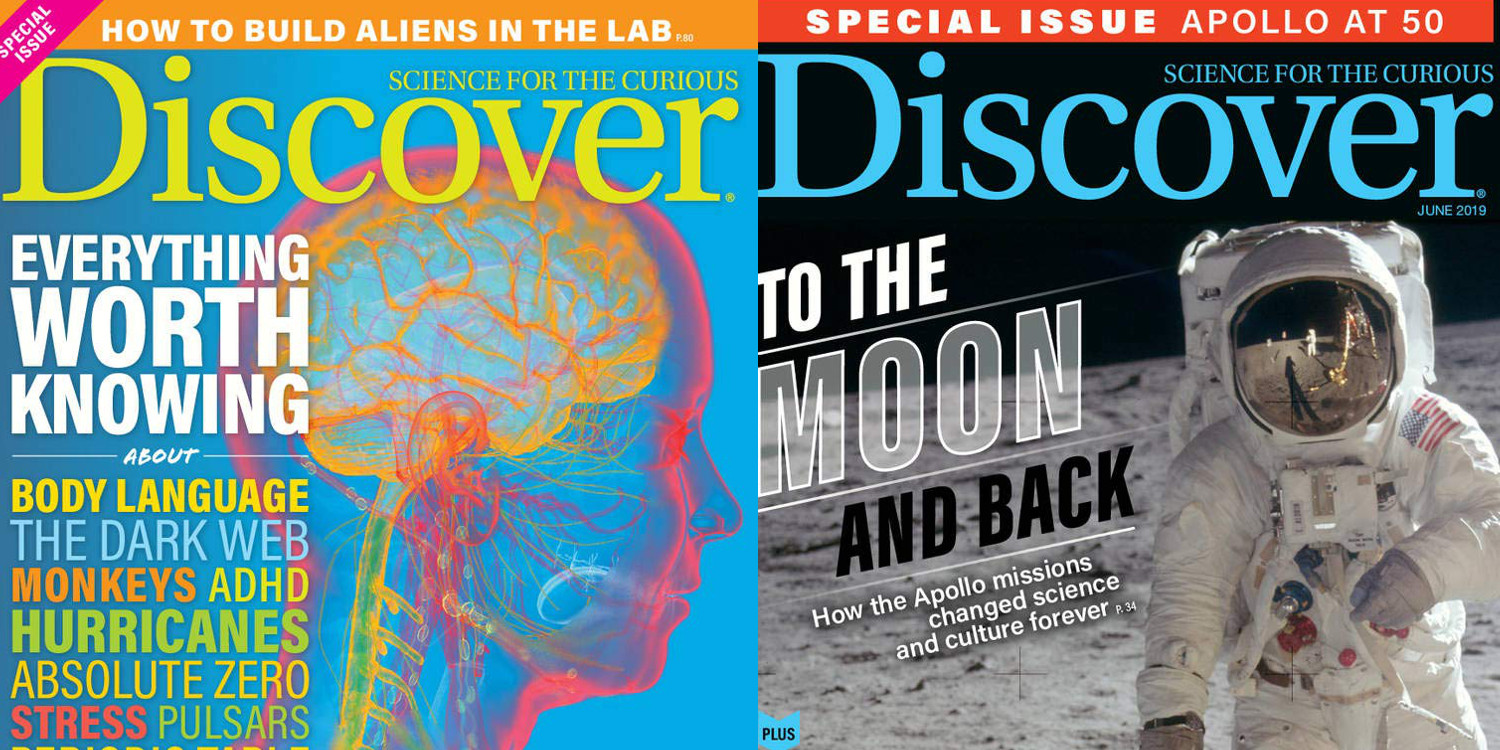 One Year Of Science And Tech Mag Discover For Just $6.50