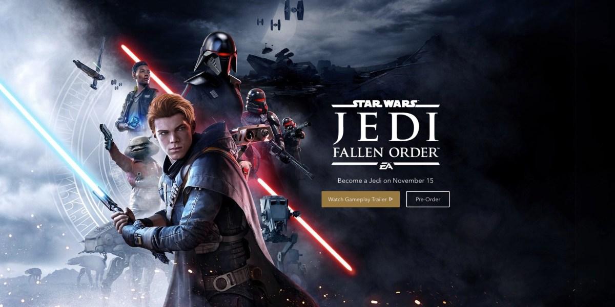 EA E3 2019: Star Wars Jedi Fallen Order