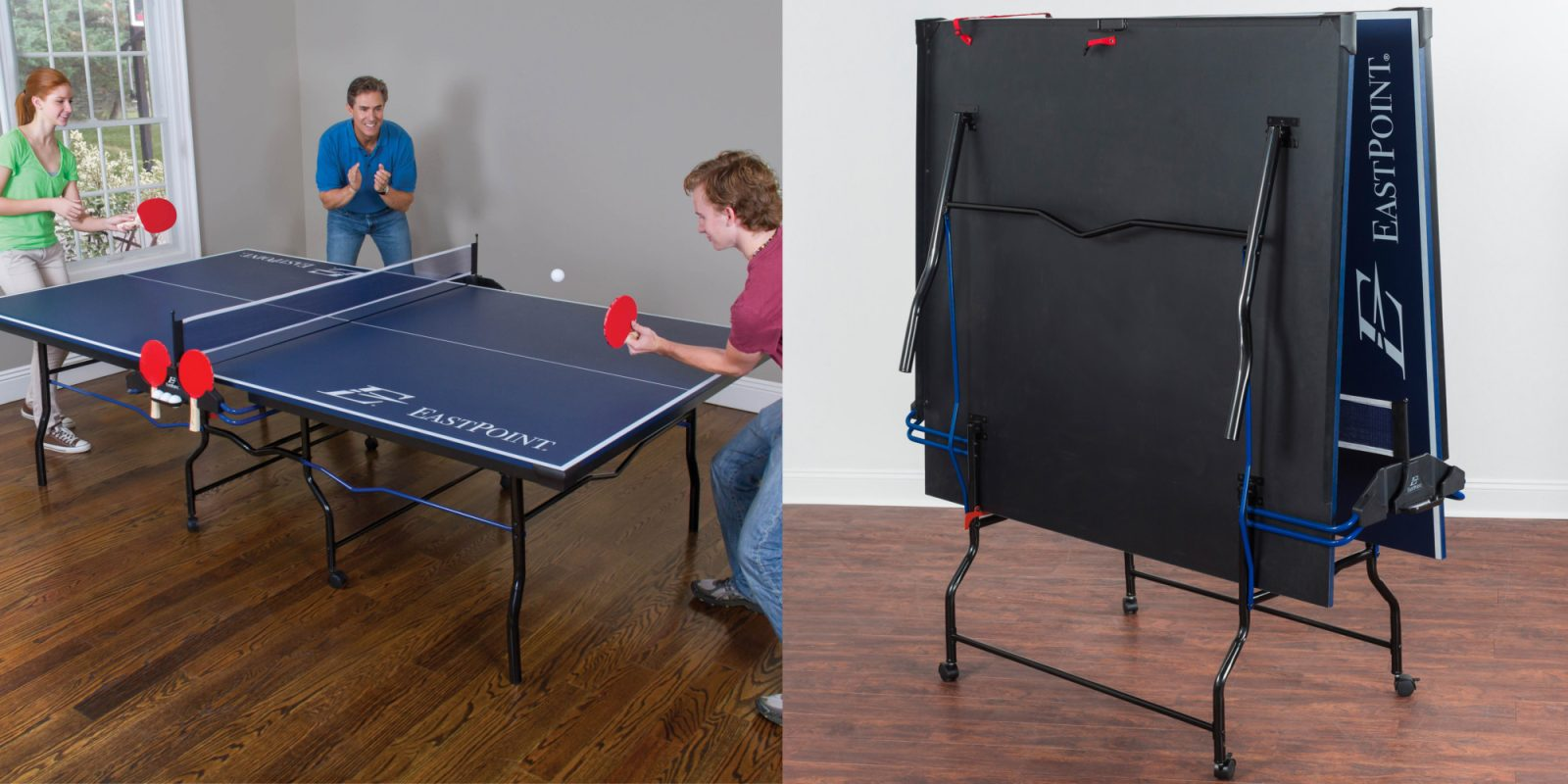 Eastpoint S 9 X 5 Foot Ping Pong Table Drops To 115 Shipped