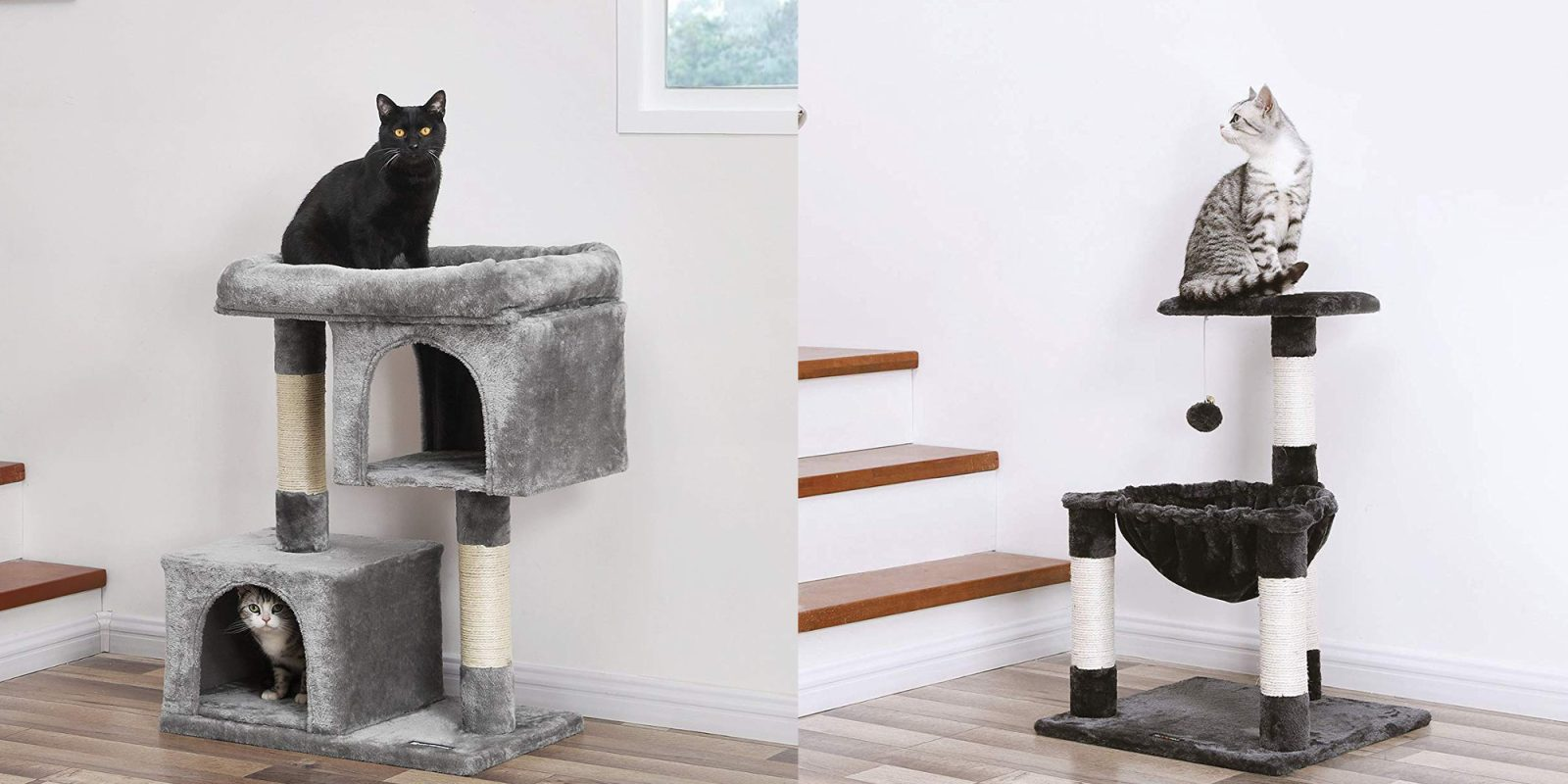 Luxury plush cat condos starting from $36 in today's Amazon Gold Box (23% off)