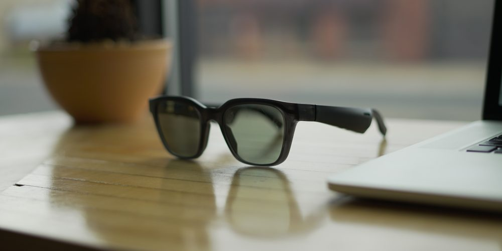Bose Frames on table