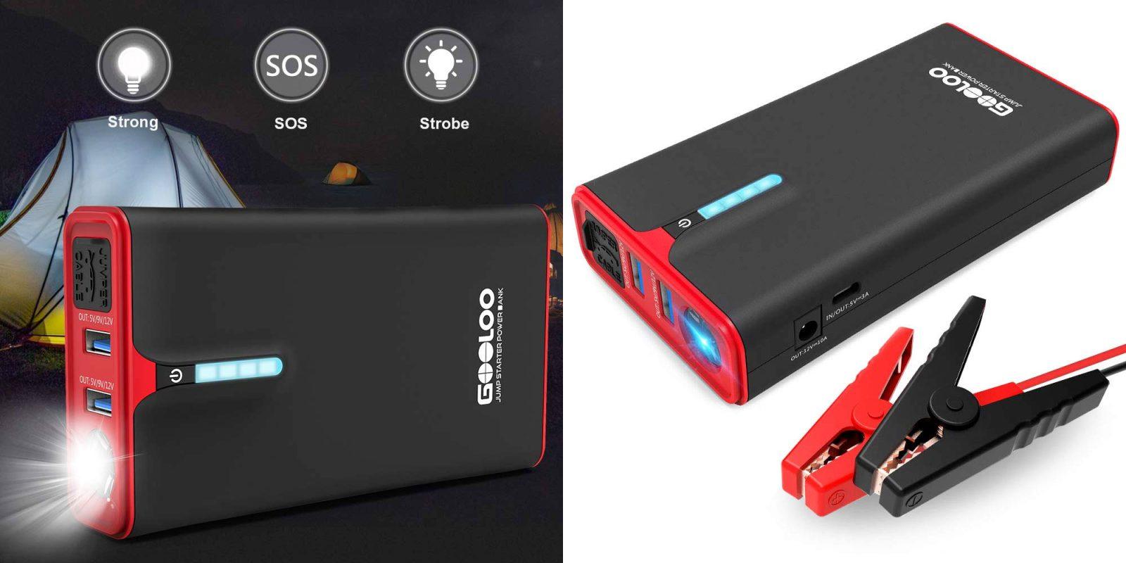 Jump start a car & charge an iPad w/ a 1200A/15000mAh battery: $50 (Reg. $80)