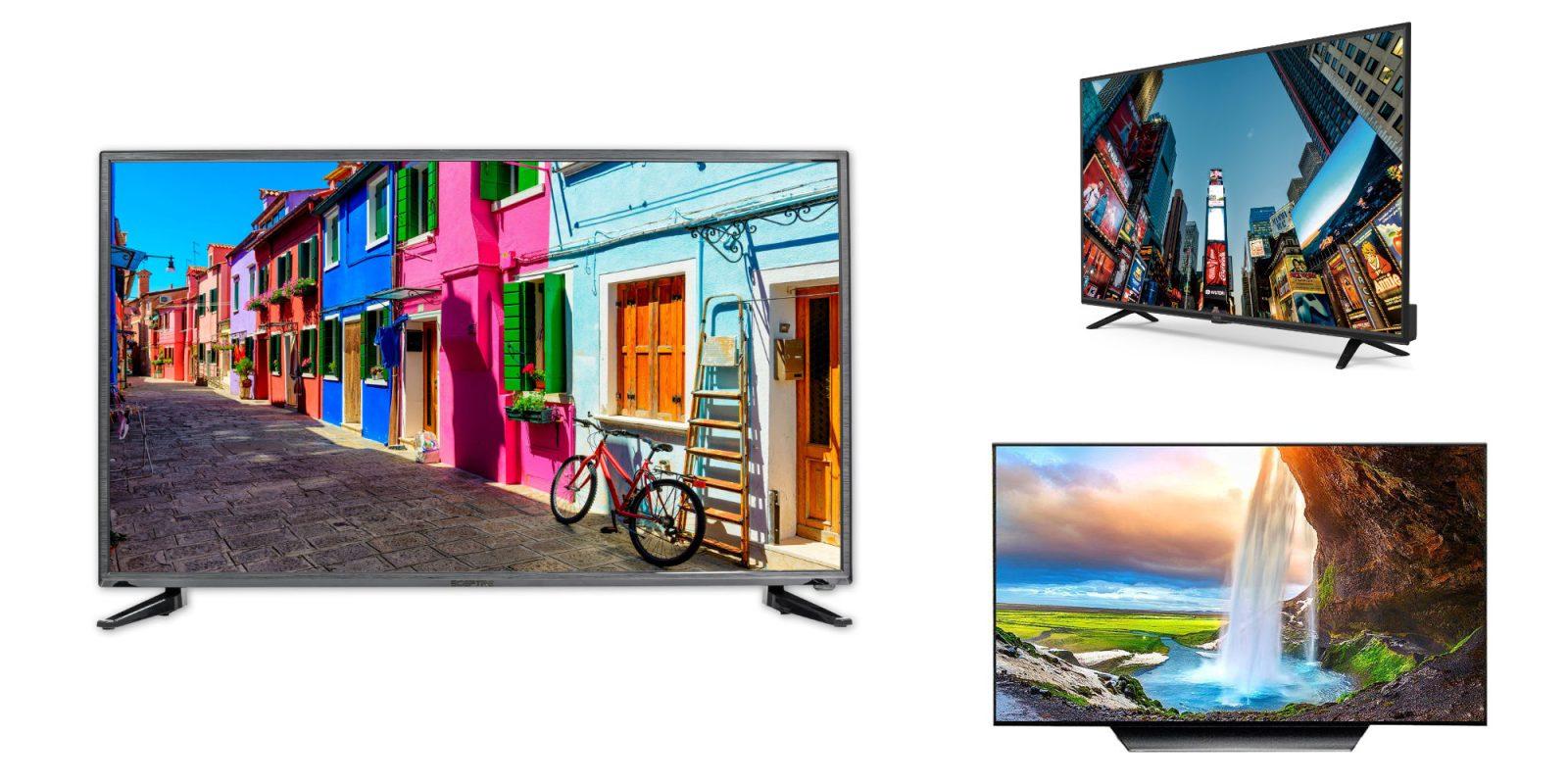Just $120 grabs a Sceptre 40″ 1080p TV (Reg. $160), RCA 43″ 4K $150, more