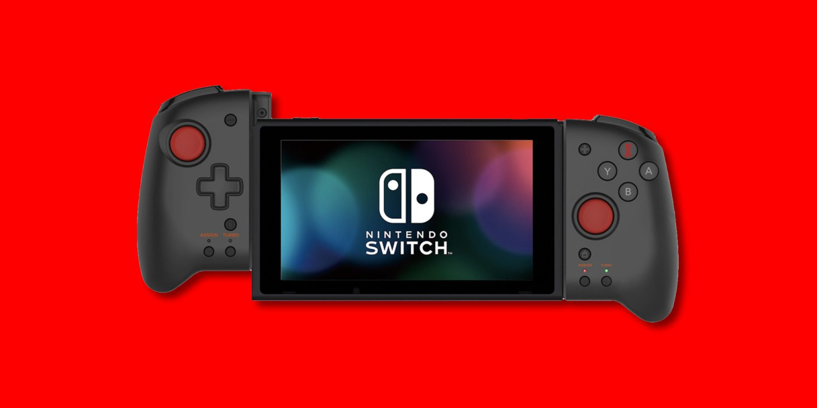 Hori Grip delivers comfort to portable Nintendo Switch