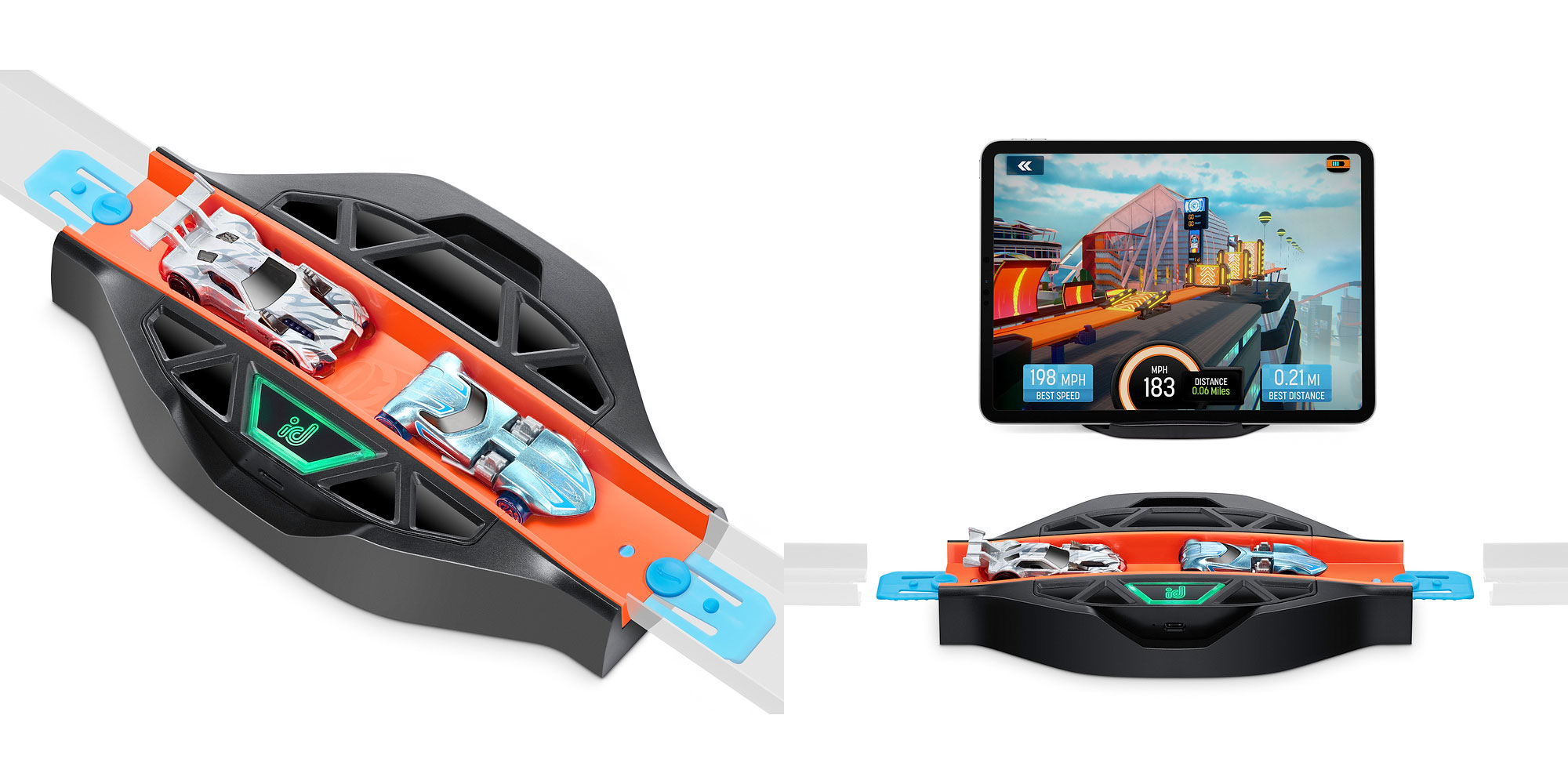 hot wheels id race portal