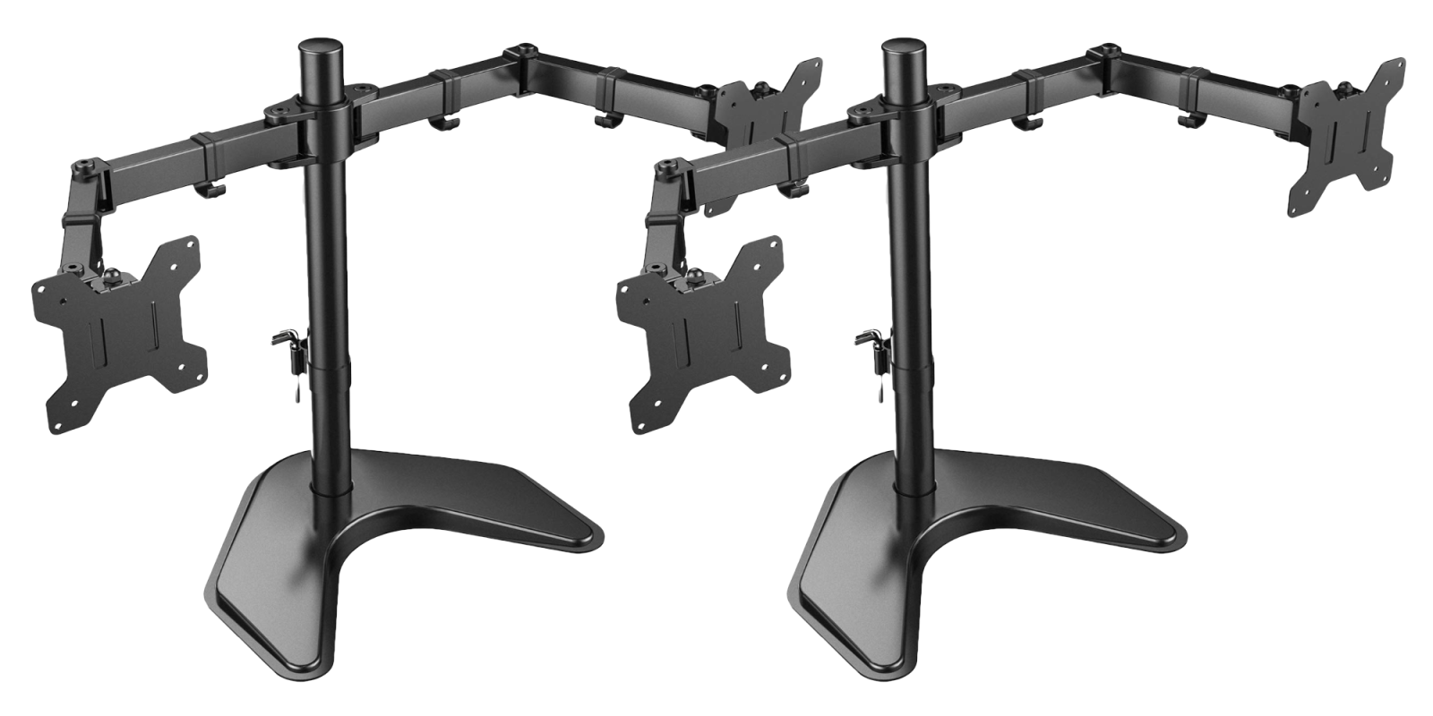 This dual monitor stand frees up desk space at 27% off, now on sale for $26