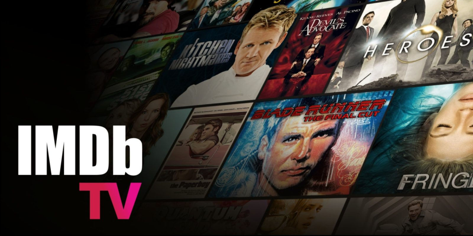 Amazon rebrands Freedive as IMDb TV, adds thousands of titles to free catalog