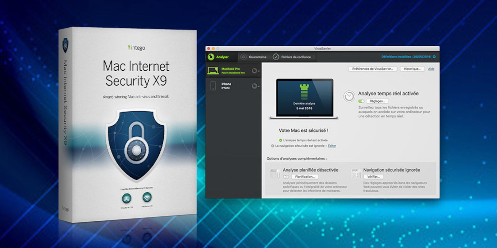 Shut down viruses with Intego Mac Internet Security X9 for $30 (Orig. $50)