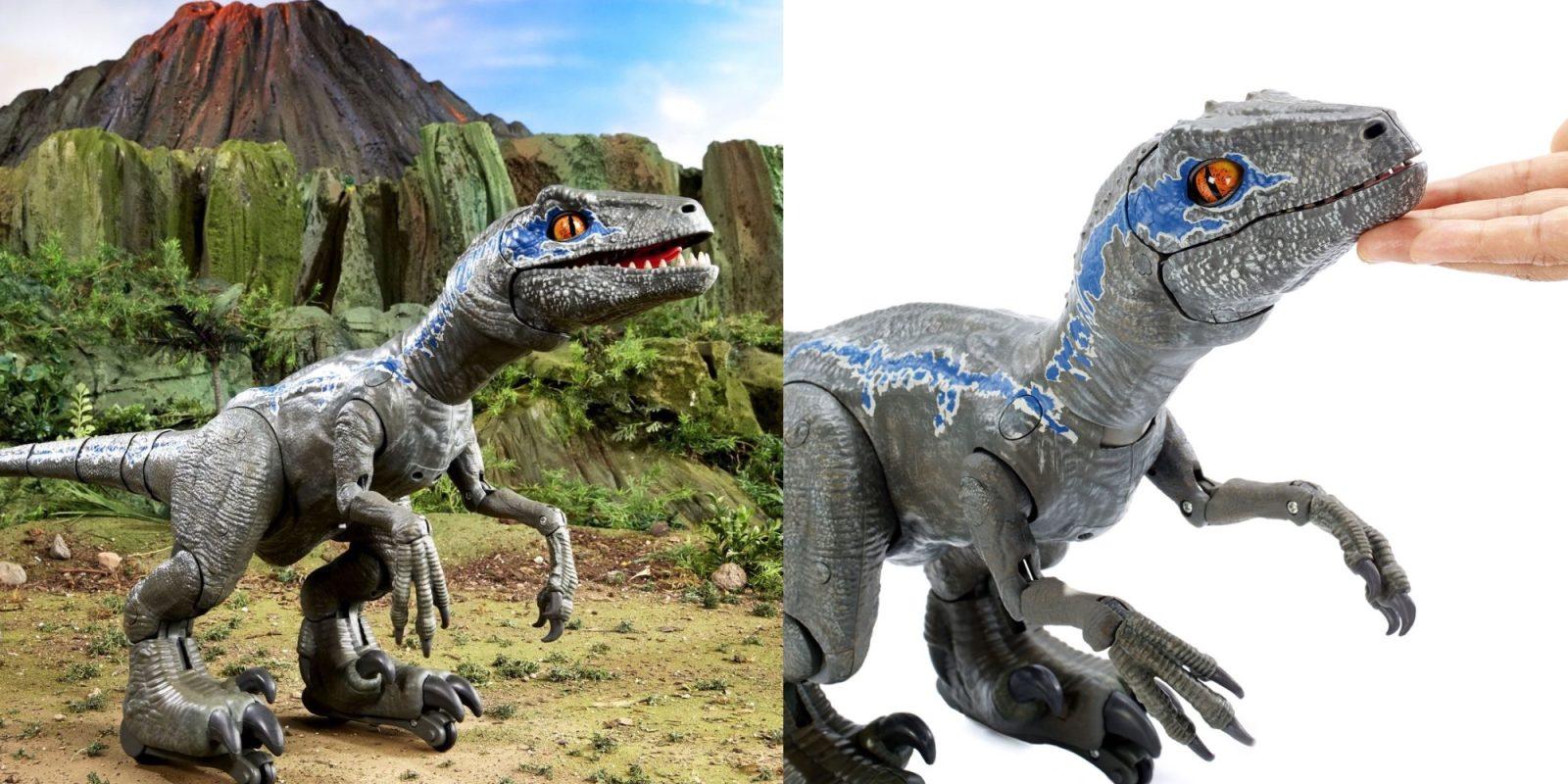 Train your own velociraptor w/ this $80 Jurassic World Robotic Dino ($50 off)