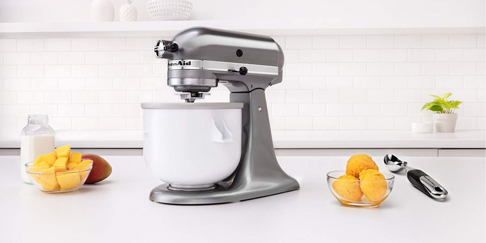 Use Your Kitchenaid To Make Ice Cream At Home For 45 Reg