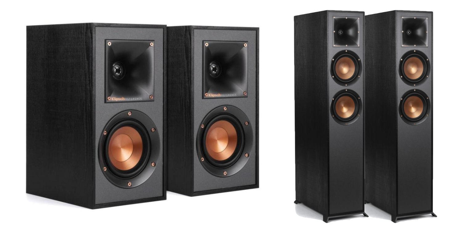 Expand your pro audio setup or home theater w/ Klipsch speakers from $119