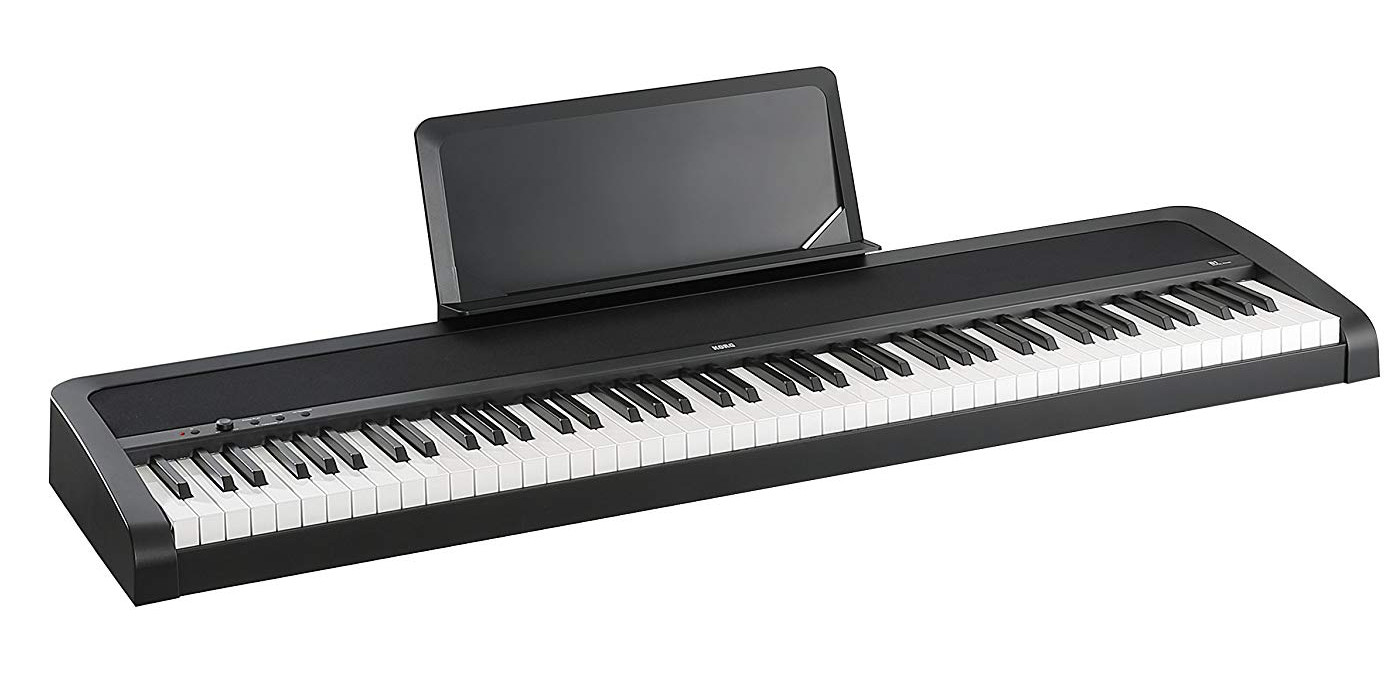 Korg's 88-Key Weighted Digital Piano is a great starter instrument at $200 off