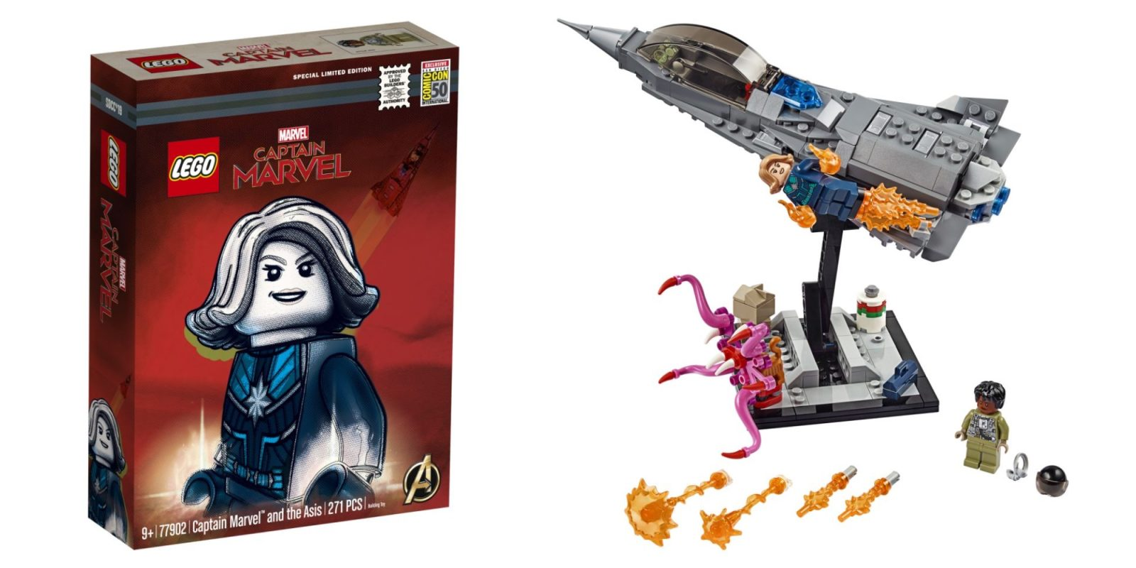 LEGO debuts new Captain Marvel set as one of this year's Comic-Con exclusives