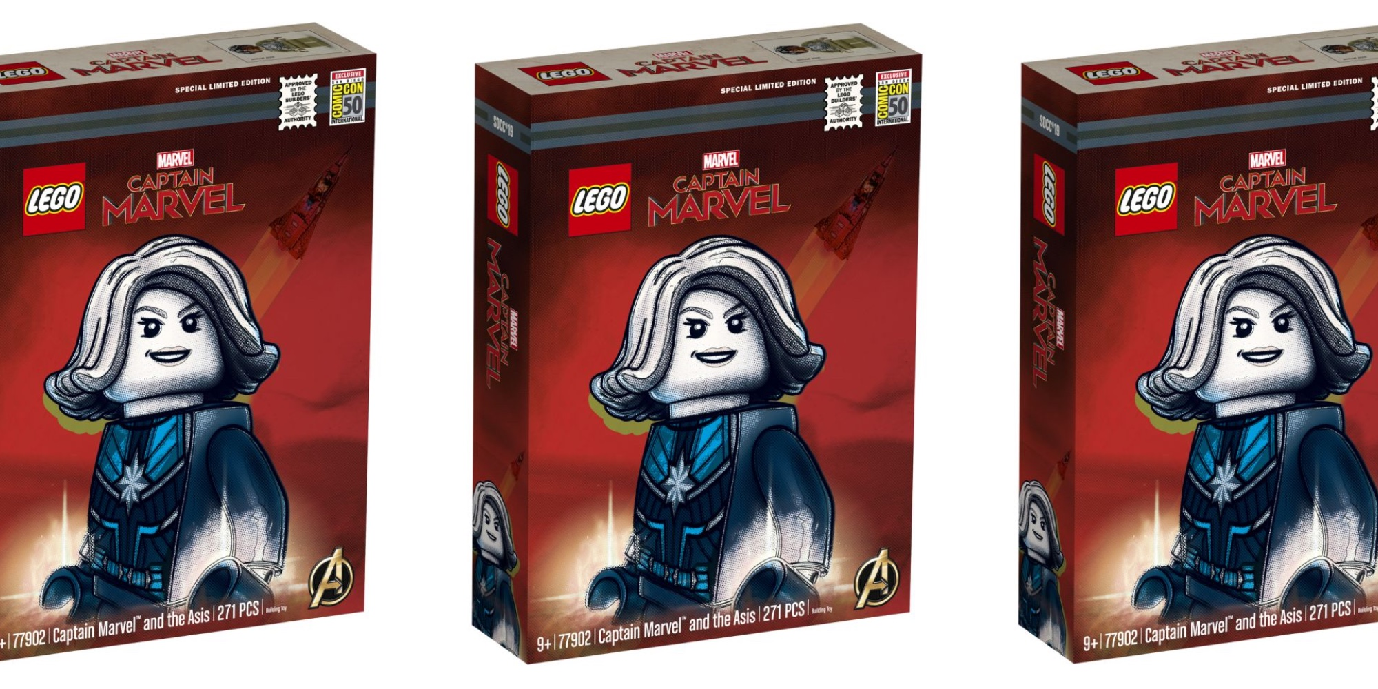LEGO Captain Marvel SDCC
