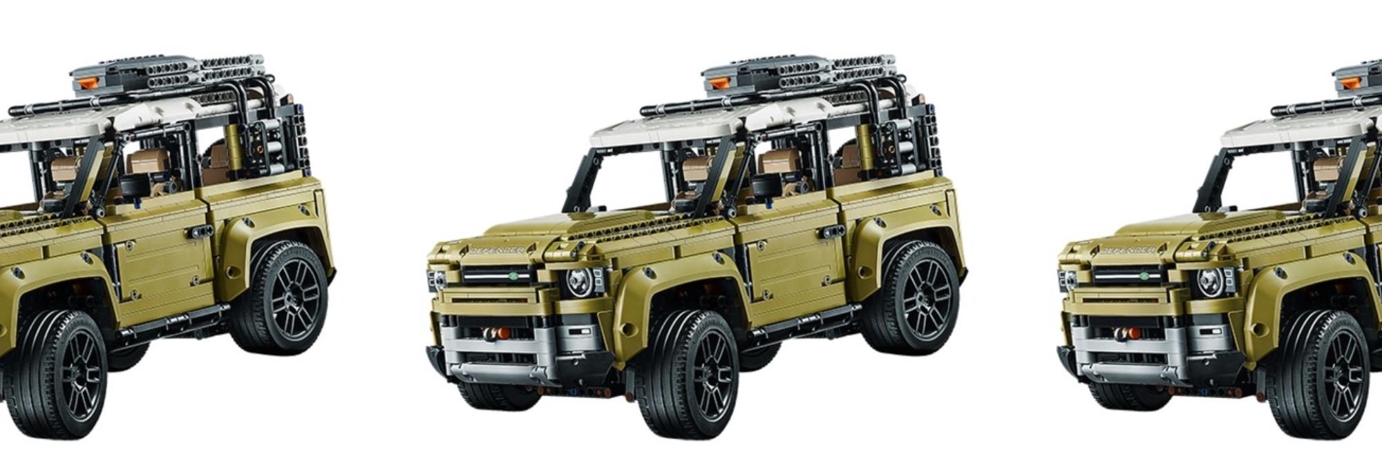 LEGO Land Rover Defender 3