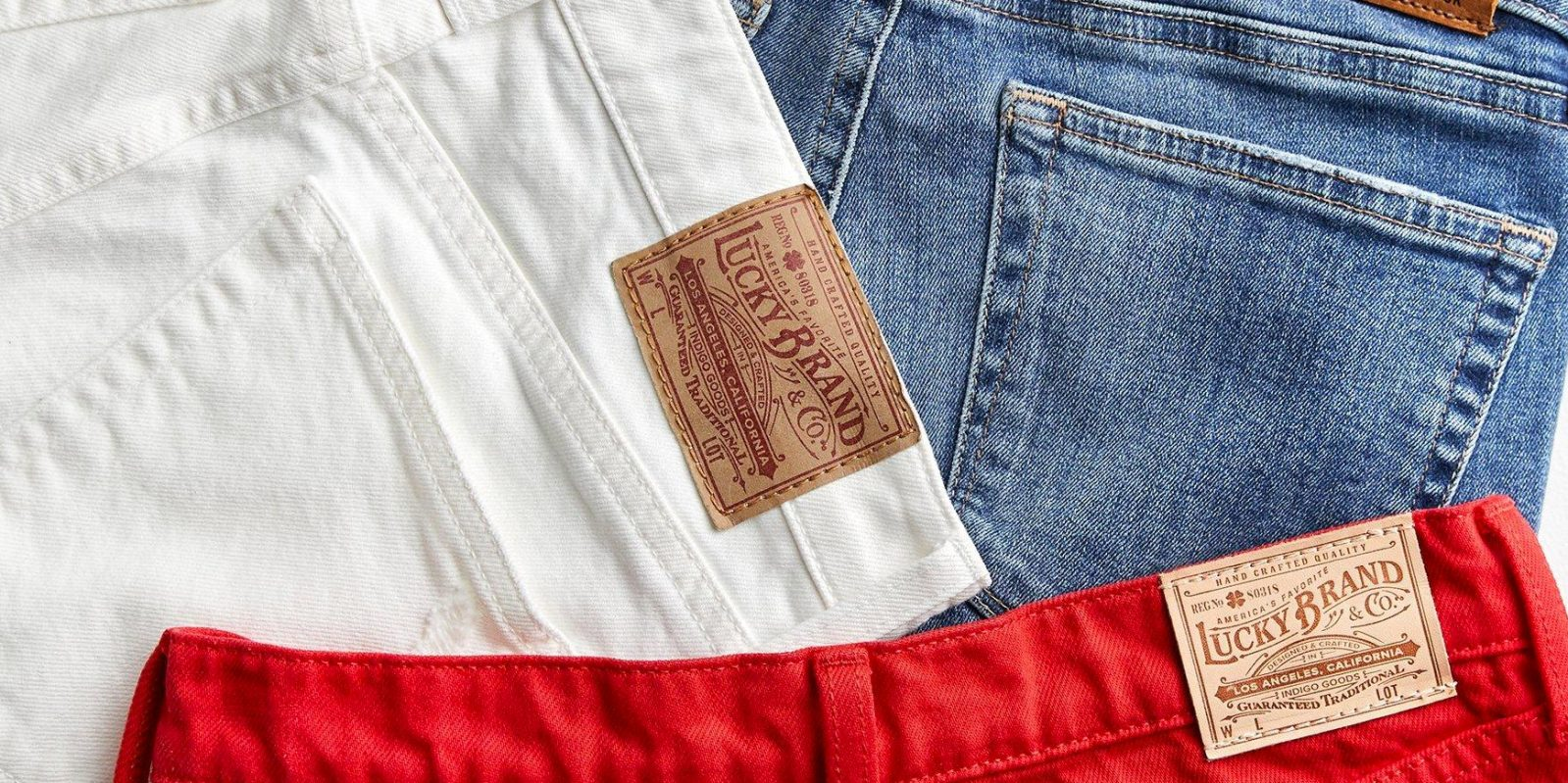 Lucky Brand End of Season Sale offers up to 75% off clearance styles from $12