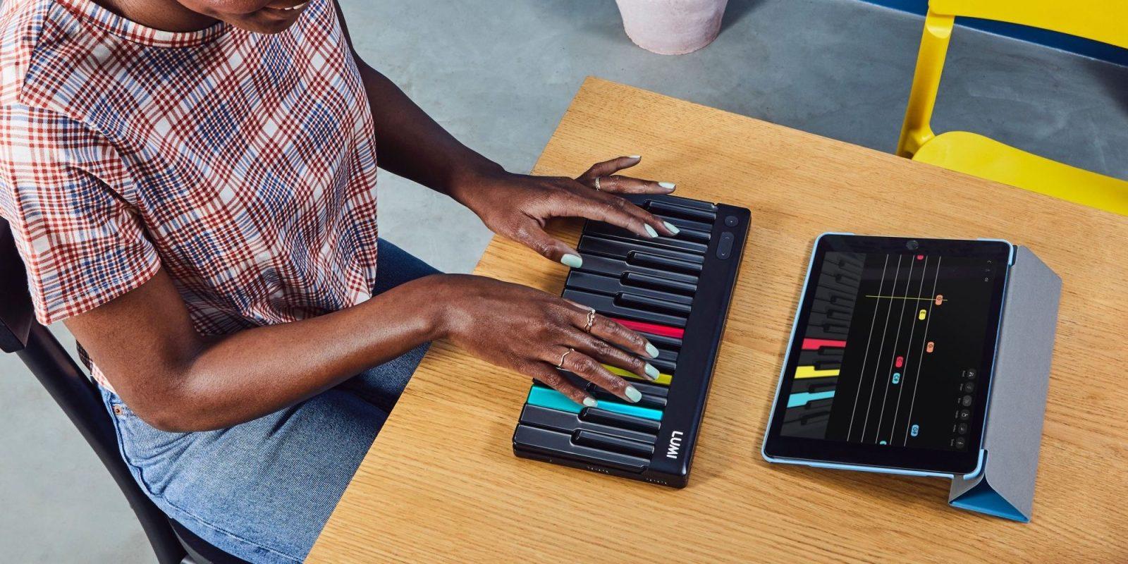 ROLI's intros Lumi keyboard w/ multi-colored LED keys and iOS app integration