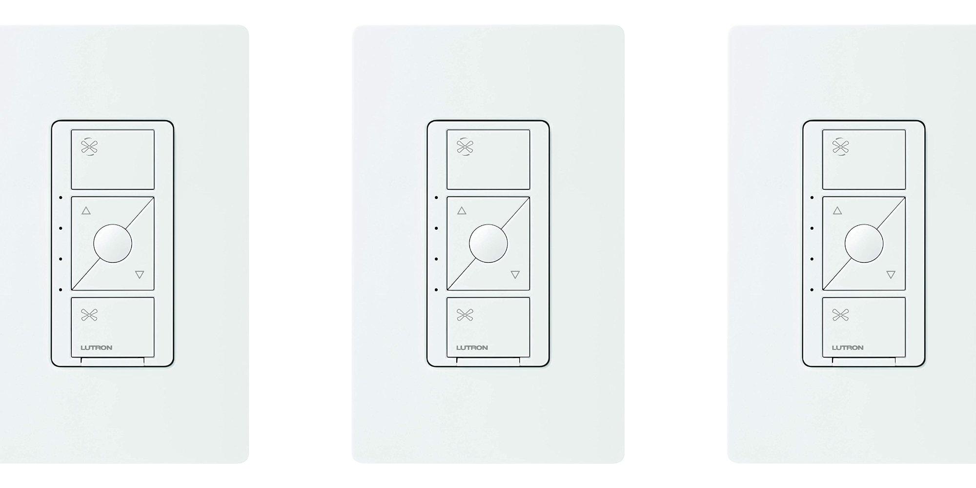 Lutron's recently-released HomeKit Smart Fan Switch drops to $50 50