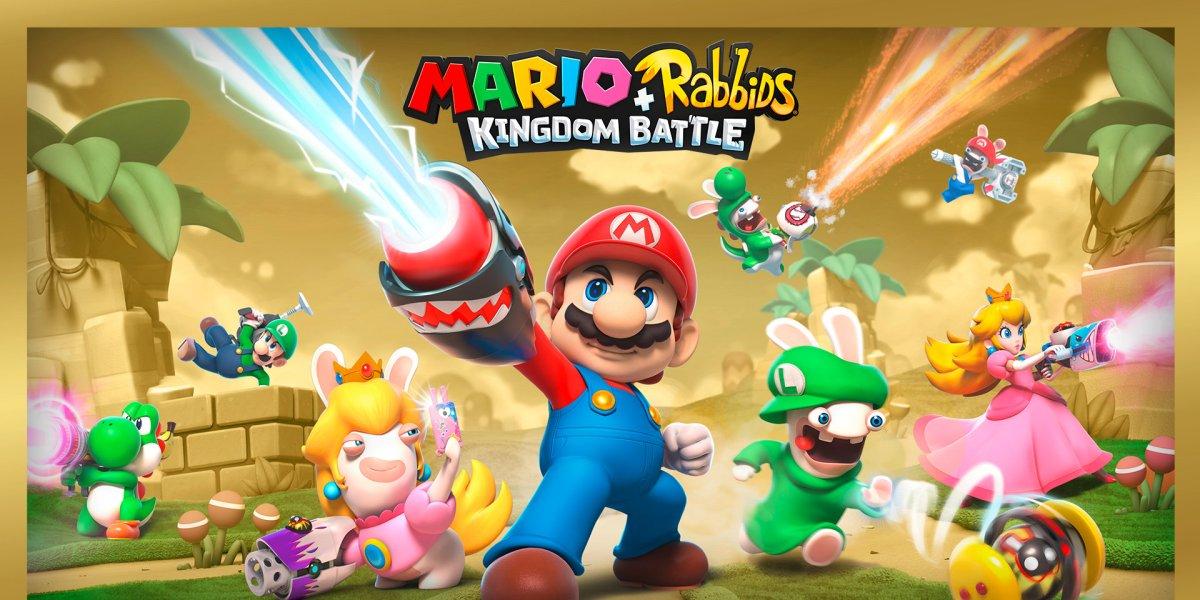 Nintendo holiday eShop sale: Mario + Rabbids Gold